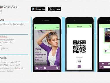 Ginko - Social Messenger App