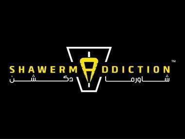 SHAWERMADDICTION logo