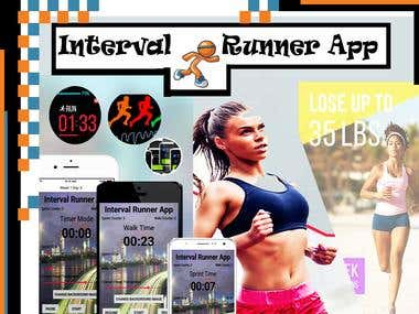 Interval Runner App