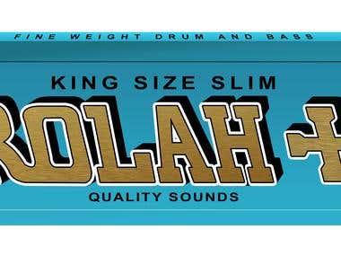 DJ Rolah logo design