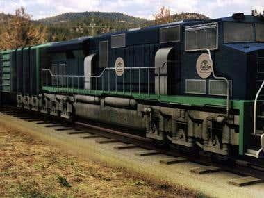 High Detailed Train