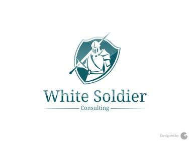 White Soldier Logo by Colour Cargo