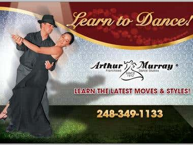 Ad Design for Dance Studio