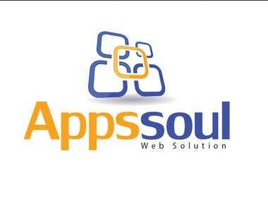 Appssoul Logo Design