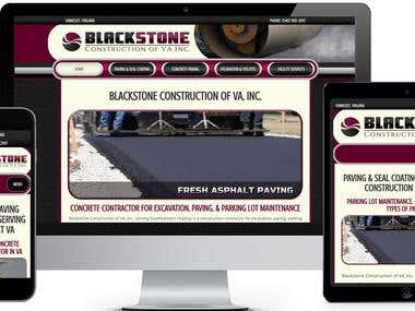 Construction Website Development