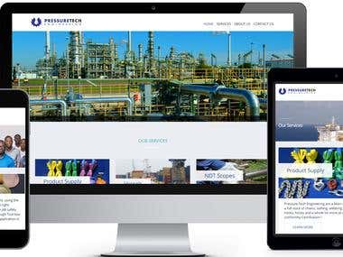 Construction Website Design and Development