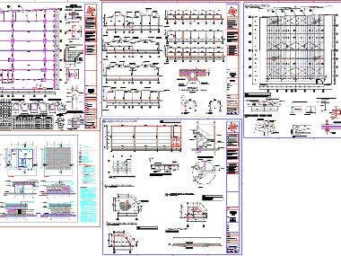 AutoCad tehnical drawing
