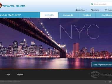 USA Travel shop