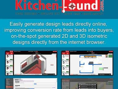 3D Web Kitchen Planner