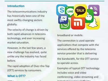 White Paper - OTT in Telecoms