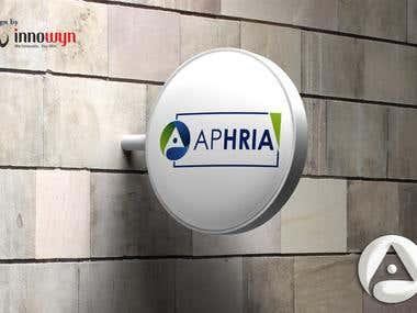 Apharia Logo Design