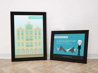Ilustrando edificios
