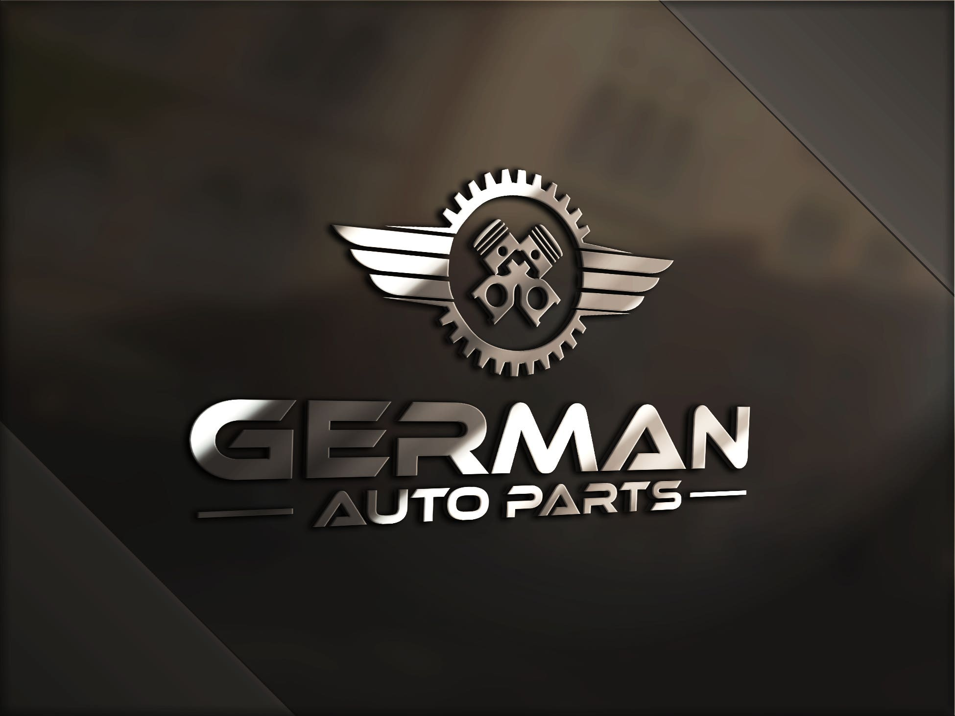 German Auto Parts Logo Design