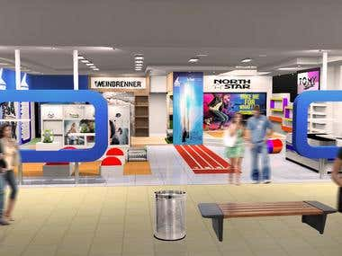 Retail Renderings