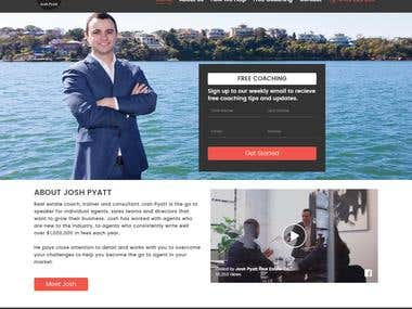 Website Design and Development for joshpyatt