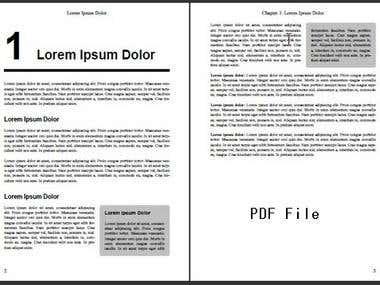 PDF FILE CREATE