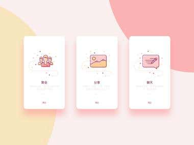 ui/ue/ux/ued/web design/app design