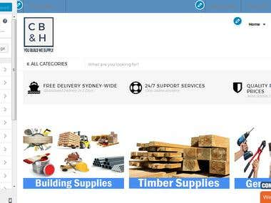 Website Design for cbhardware.com.au