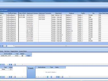 The program for the accounting staff