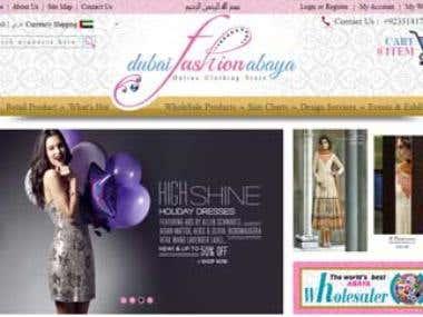 Dubai Fashion Abbaya