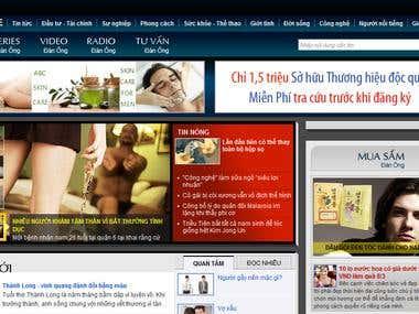 A website for men
