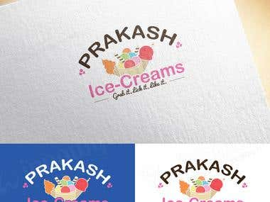 Ice-cream Truck/Shop Logo