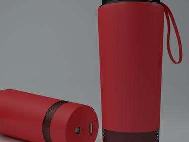 Bluetooth Bottle Design