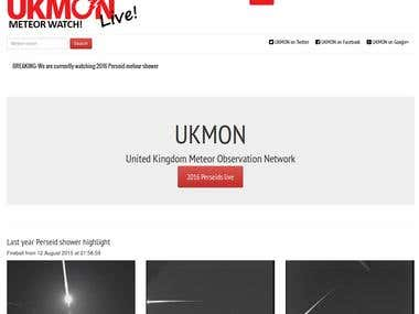 UK Meteorwatch(Zend Framework)