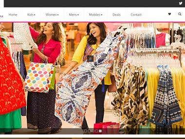 E-Commerce Website (Resposive)