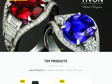 Website Design for Gift Of Jewellery