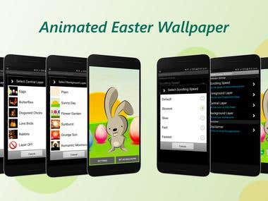 Animated Easter Live Wallpaper