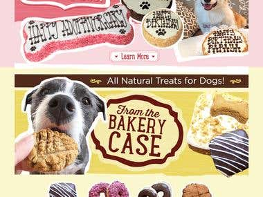 Dog Birthday Cakes Cookies Treats Fresh Baked Dog Food