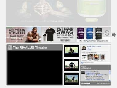 RIVALUS Sports Nutrition Online