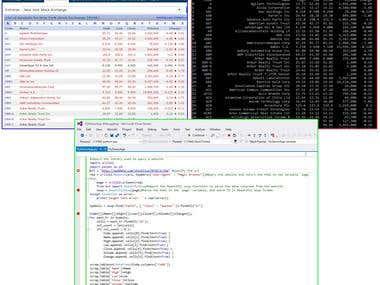 web data scrap by python
