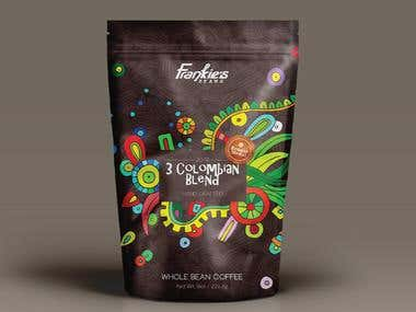 Packaging Design - Coffee Beans