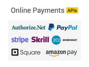 Online Payments APIs Integration