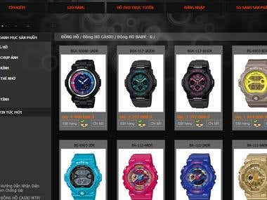 A selling casio watch web-site