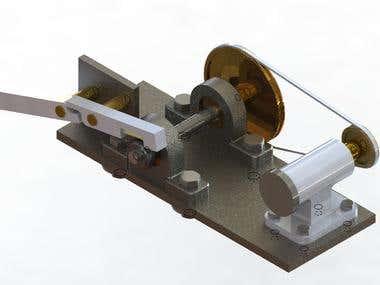 Falex Oil Friction Testing Machine
