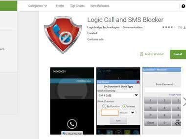 Logic Call & SMS Blocker