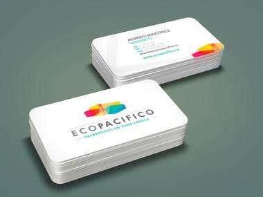 Desarrollo imagen corporativa ECOPACIFICO