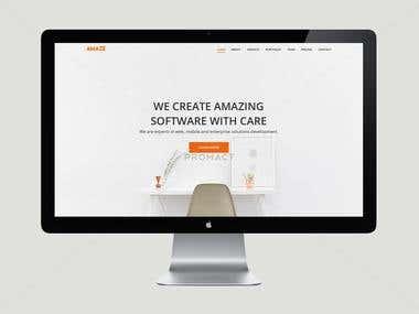 Amaze - Wordpress Theme