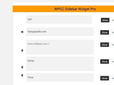 WP Custom Widget Sidebar Plugin