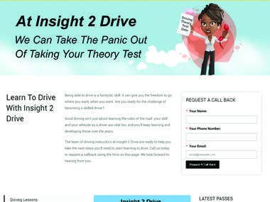 Website Design for Insight2Drive