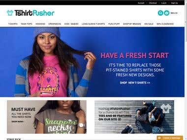 T-Shirt Pusher
