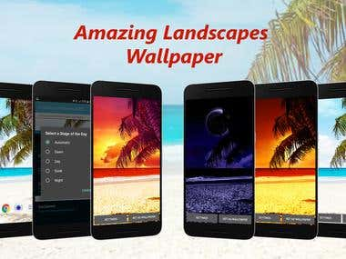 Amazing Landscapes Live Wallpaper