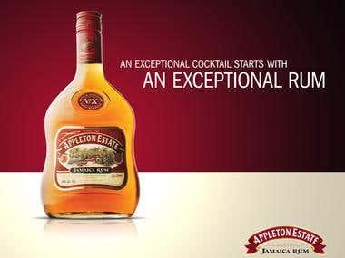 Advertising - Appleton Estate Jamaica Rum