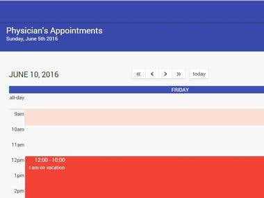 Real Time Patient Appointment Manager