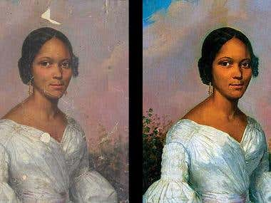 Photo restoration & retouch