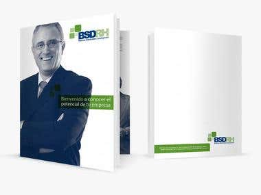 Brochure Concept & Design for BSDRH Human Resources