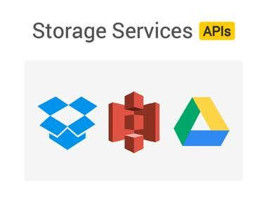 Storage Services APIs